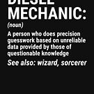 Funny Diesel Mechanic Definition T-shirt by zcecmza