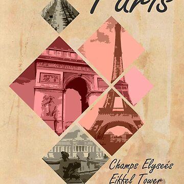 Paris Vintage Poster by Matucho