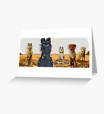 Dogs on the Isle Greeting Card