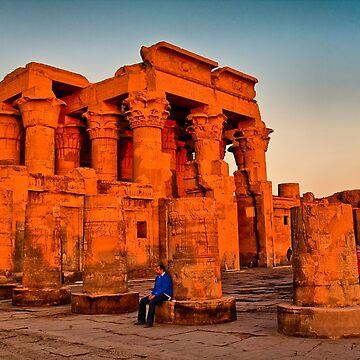 Egypt. Temple of Kom Ombo. by vadim19