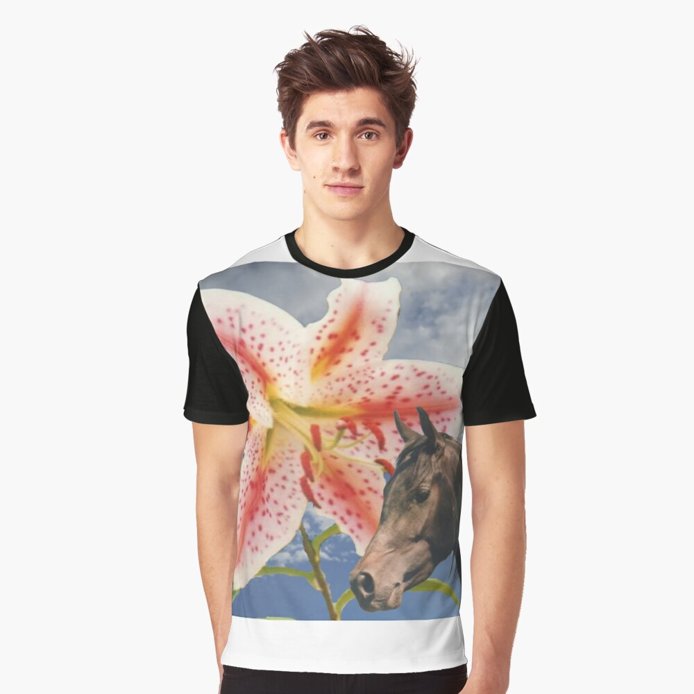 Egyptian lily Graphic T-Shirt Front