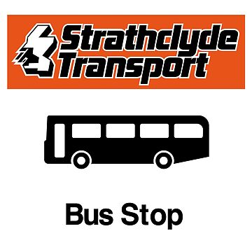 Strathclyde Buses, Bus Stop by BFXIII