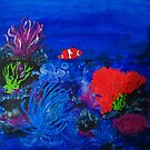 Coral and Clown by BenPotter