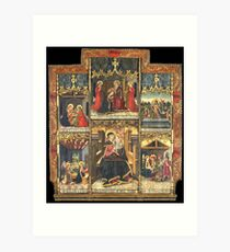 Virgin Mary Inspired Gifts    view at The Met Gallery 305  Art Print