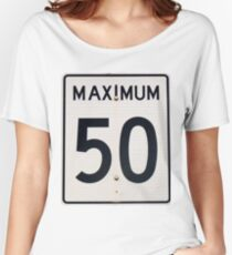 Maximum 50 T-shirts coupe relax