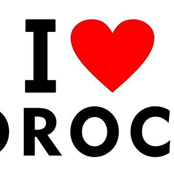 I love Morocco by tony4urban