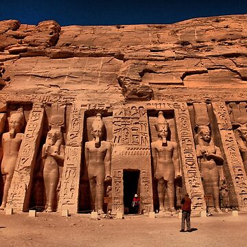 Egypt. Abu Simbel The Second Temple. by vadim19
