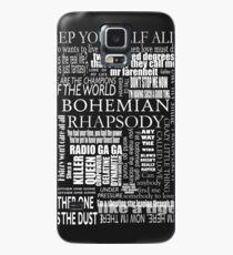 BOHEMIAN RHAPSODY LYRICS Case/Skin for Samsung Galaxy