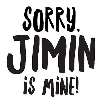 Jimin is MINE! by namjoonstrash