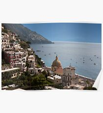 Positano By the Sea Poster