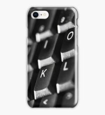 computer keyboard iPhone Case/Skin