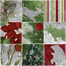 Christmas Lodge Patchwork by mindydidit