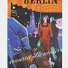 Vintage Berlin Travel Poster, 1955 by edsimoneit