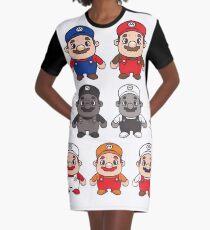 Mario Graphic T-Shirt Dress