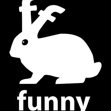 Funny Bunny by SymbolGrafix