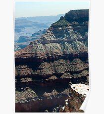 Canyon Skirts Near Granite Gorge & Yaki Point Poster