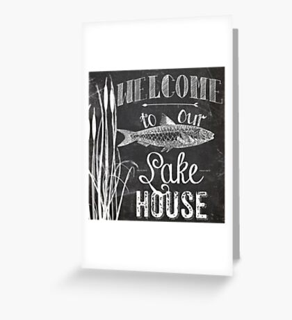 Lake House III Greeting Card