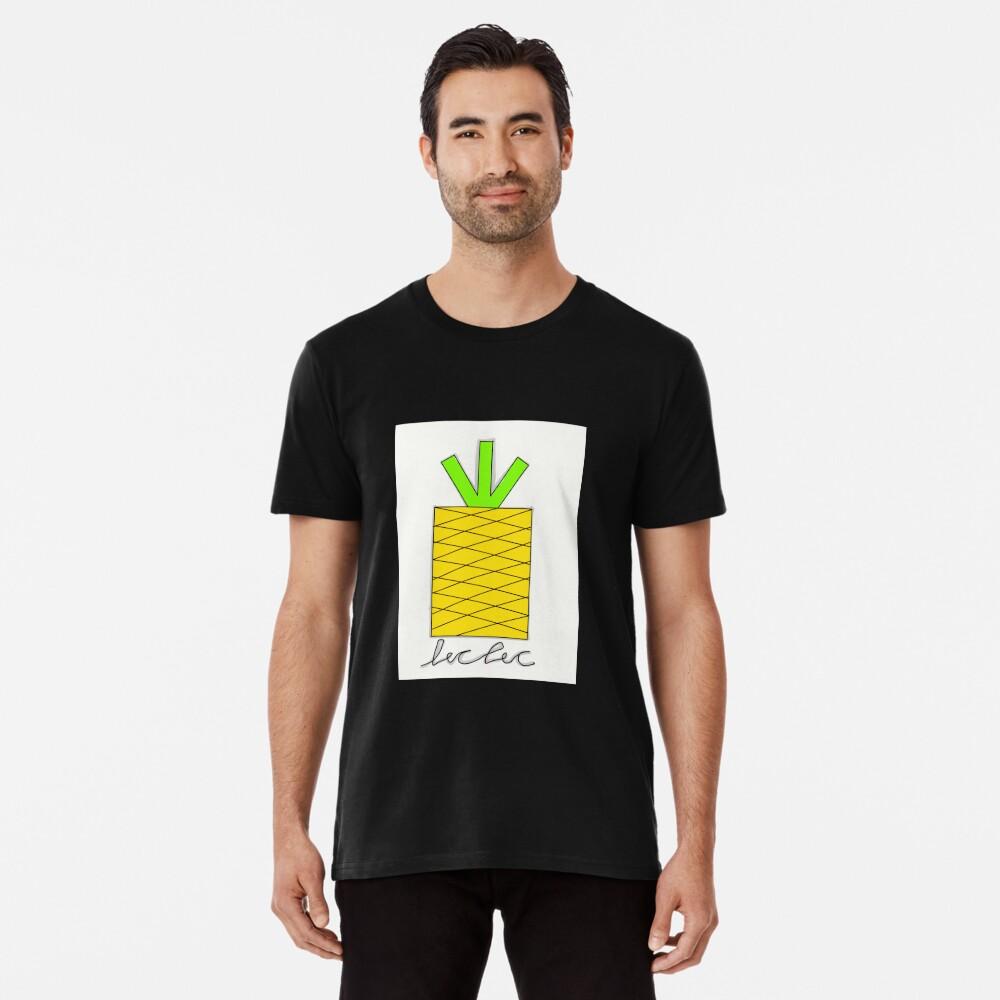 Ananas, tropisch, Obst, Obst tropisch Premium T-Shirt