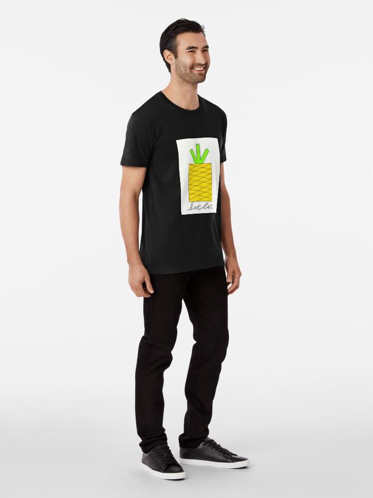 Alternative Ansicht von Ananas, tropisch, Obst, Obst tropisch Premium T-Shirt