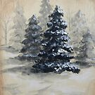 Winter in the Pines by Angie Redhead
