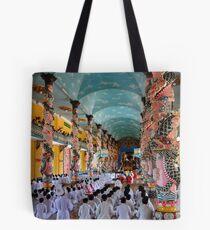 Cao Dai Temple, Midday Service Tote Bag
