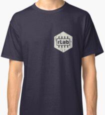 rLAB distressed beige logo Classic T-Shirt