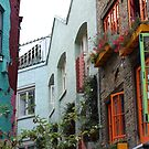 The colourful houses of Neil's Yard, London by TalBright