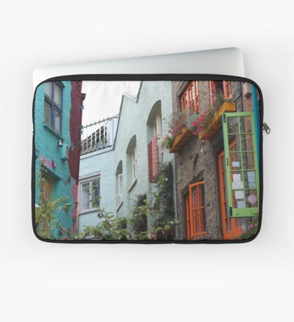 The colourful houses of Neil's Yard, London Laptop Sleeve