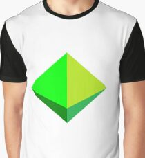 hexahedron Graphic T-Shirt