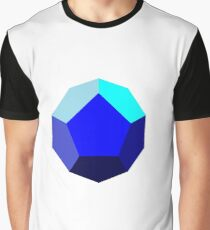 dodecahedron Graphic T-Shirt