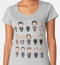 The Fifteen Doctors Women's Premium T-Shirt