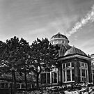 Silver Photography Architecture Still Greenhouse Observatory Calm Sky by LongbowX