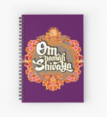 Om namah Shivaya  Spiral Notebook