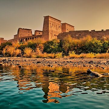 Egypt. Temple of Philae. by vadim19