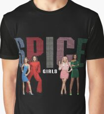 Spice Girls - Spice World Tour 2019 (Spiceworld Logo 1) Graphic T-Shirt