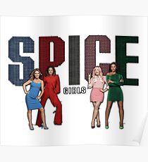 Spice Girls - Spice World Tour 2019 (Spiceworld Logo 1) Poster
