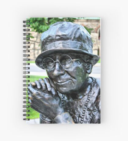 Happy Old Women Spiral Notebook