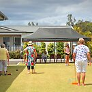 Croquet at Yamba Waters Village by myraj