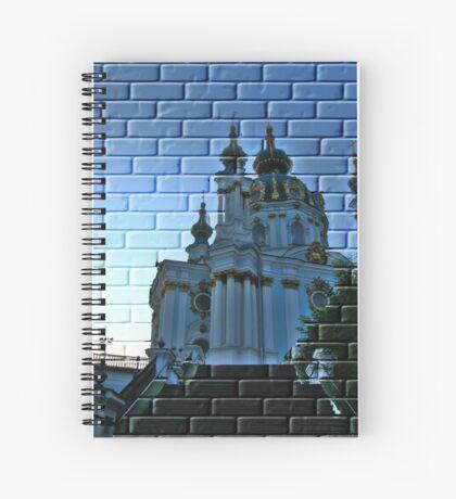 Kiev, Andreevskaya Church  Spiral Notebook