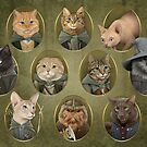 Cat of the Rings by Jenny Parks