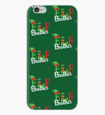 Brother Elf Matching Family Christmas Pajama iPhone Case