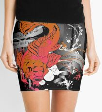 Fish Out of Water Mini Skirt