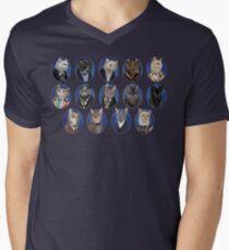 Doctor Mew Men's V-Neck T-Shirt