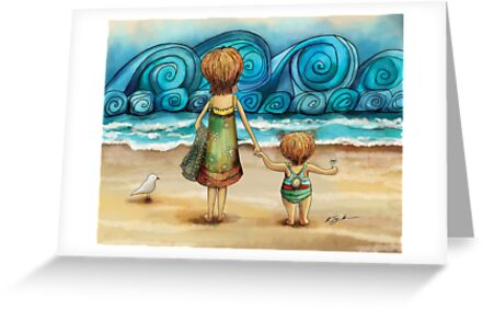 Beachcombers by Karin Taylor