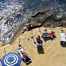 Sunbathing in Naples by Neil Buchan-Grant