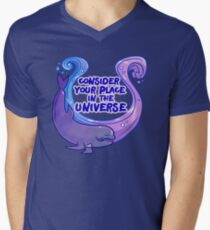 Existentiwhale: Consideration V-Neck T-Shirt