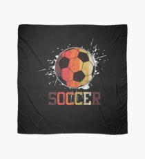 Soccer Retro Athlete Football Sports Team Athletic Player Gifts Scarf