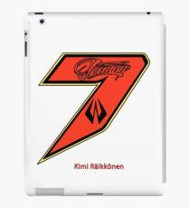 Kimi Raikkonen  iPad Case/Skin