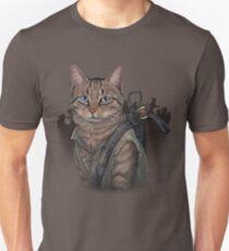Daryl Dixon Cat Slim Fit T-Shirt