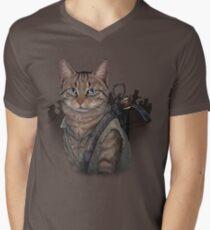 Daryl Dixon Cat Men's V-Neck T-Shirt